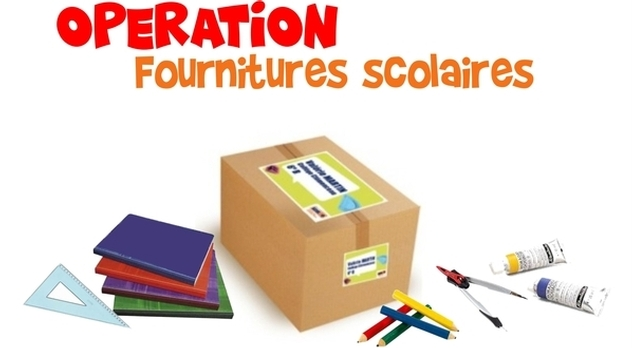 Opération fournitures scolaires
